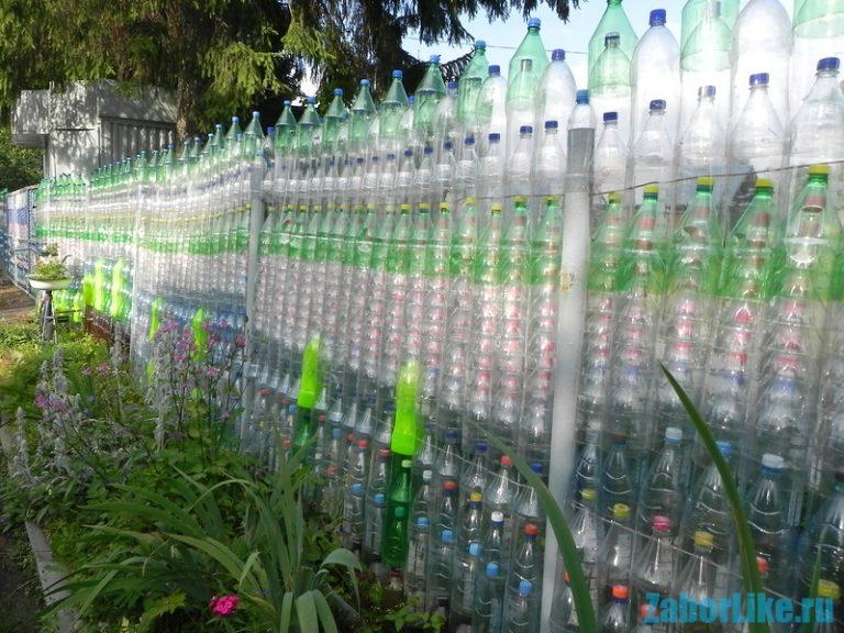 Пластиковые заборы своими руками